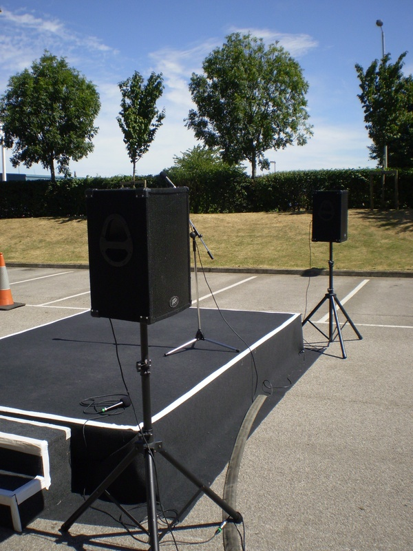 Queens Award PA System