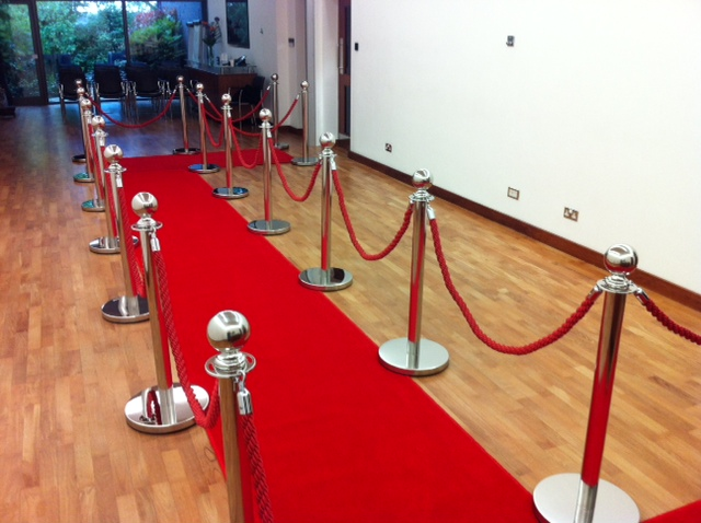 We Can Supply A Complete Vip Red Carpet For Your Special Event Our Standard Package Includes A M Wide M Long Quality Edge Stitched Red Carpet Not The